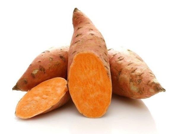 جلوگیری از سرطان لوزالمعده ، پانکراس ، سلامت گوارش ، خوردن سیب زمینی شیرین