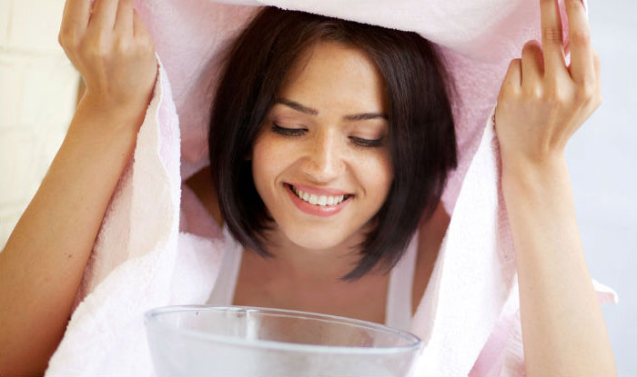 بخور آب گرم برای روشن شدن پوست و شفاف شدن و سفید شدن پوست و داشتن پوستی سالم