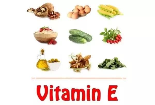 تاثیر ویتامین ای E بر روی پوست